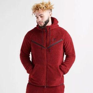 Nike Tech Fleece Sherpa Hoodie Size L Retail $150